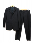 EMPORIO ARMANI(エンポリオアルマーニ)の古着「3ボタンセットアップスーツ」 ブラック