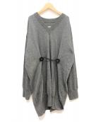 MM6 Maison Margiela(エムエムシックス メゾンマルジェラ)の古着「Jumper Dress」|グレー
