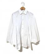 JUNYA WATANABE COMME des GARCON(ジュンヤワタナベ コムデギャルソン)の古着「バタフライスリーブシャツ」|ホワイト