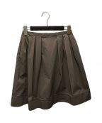 FOXEY NEWYORK(フォクシーニューヨーク)の古着「スカート」 オリーブ