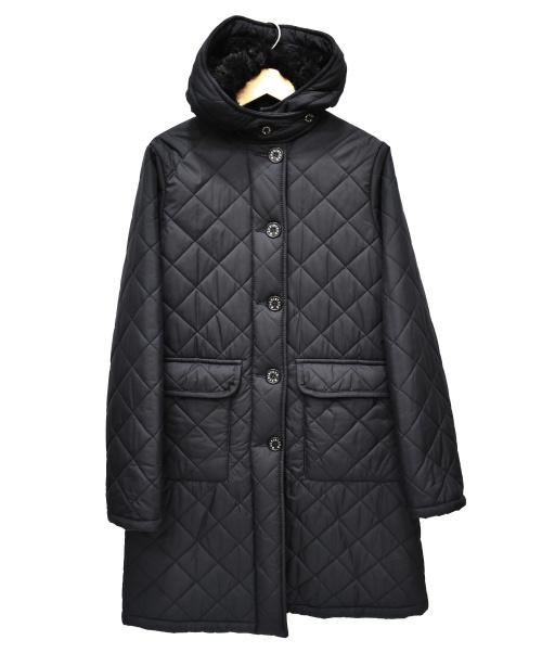 MACKINTOSH SCOTLAND(マッキントッシュスコットランド)MACKINTOSH SCOTLAND (マッキントッシュスコットランド) 裏ボアキルティングコート ネイビー サイズ:36の古着・服飾アイテム