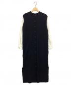 Ameri(アメリ)の古着「MANY WAY DOCKING SHIRT DRESS」|ブラック