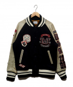 TMT(ティーエムティー)の古着「1999スタースタジャン」|ネイビー