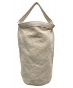 ()の古着「布帛ショルダーバッグ」|ベージュ