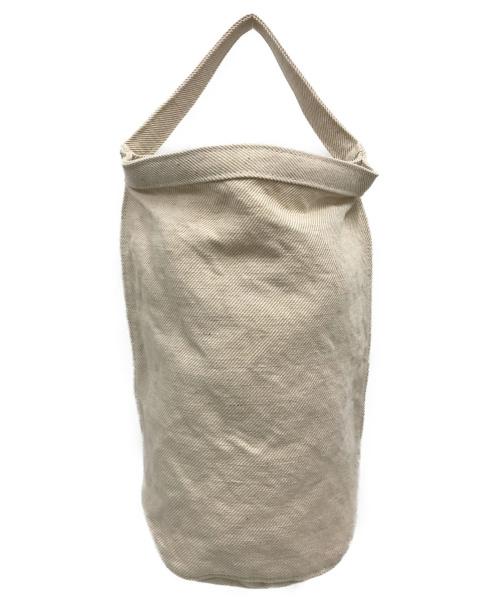 STUFF(スタッフ)STUFF (スタッフ) 布帛ショルダーバッグ ベージュの古着・服飾アイテム