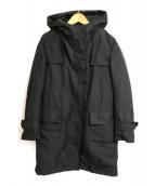 ()の古着「ダウンライナー付フーデッドコート」|ブラック