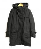icB(アイシービー)の古着「ダウンライナー付フーデッドコート」|ブラック