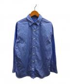 DEUXIEME CLASSE()の古着「ワッシャーシャツ」|ライトブルー