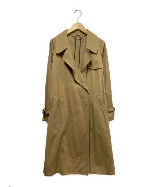 MUSE de Deuxieme Classe(ミューズ ドゥーズィエム クラス)MUSE de Deuxieme Classe (ミューズデドゥーズィエムクラス) トレンチコート キャメル サイズ:表記なしの古着・服飾アイテム