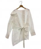 STAIR(ステア)の古着「レイヤードデザインシャツ」|ホワイト