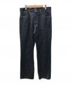 AURALEE(オーラリー)の古着「デニムパンツ」|インディゴ