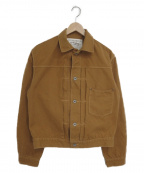 Stevenson Overall Co.(スティーブンソンオーバーオール)の古着「ワークジャケット」|ブラウン