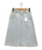 Maison Margiela 1(メゾンマルジェラ 1)の古着「パッチワークデニムスカート」