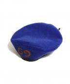 GUCCI(グッチ)の古着「ベレー帽」|ブルー