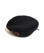 GUCCI(グッチ)の古着「ベレー帽」|ブラック