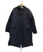SHIPS(シップス)の古着「Mマイナス65モッズオーバーコート」 ネイビー