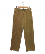 glamb(グラム)の古着「Corduroy Pants by Dickies」|ブラウン