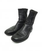 Dior(ディオール)の古着「サイドジップブーツ」 ブラック