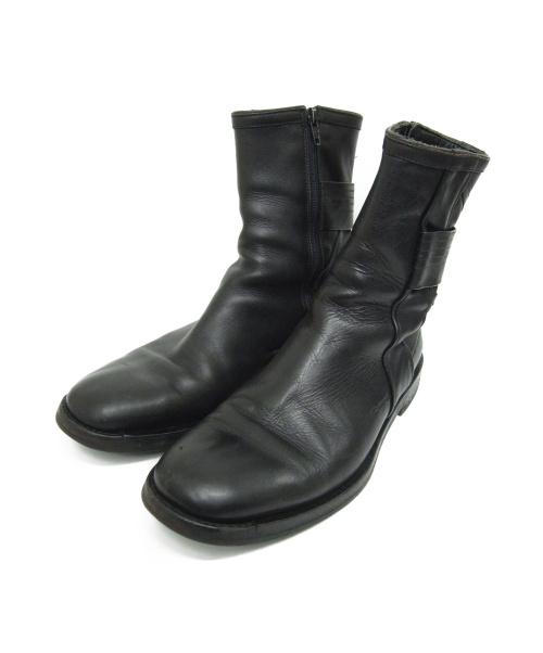 Dior(ディオール)DIOR (ディオール) サイドジップブーツ ブラック サイズ:40 1/2の古着・服飾アイテム