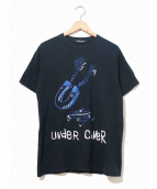 UNDERCOVER(アンダーカバー)の古着「マグネットTシャツ」|ブラック