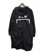 A-COLD-WALL(ア コールド ウォール)の古着「ナイロントッパーコート」|ブラック