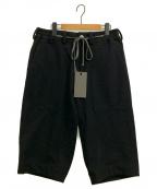 A.F ARTEFACT(エーエフ・アーティファクト)の古着「7Llength Wide Pants」|ブラック