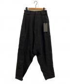A.F ARTEFACT(エーエフ・アーティファクト)の古着「Low Clotch Pants」|チャコールグレー