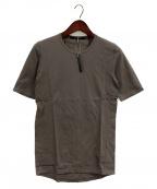 D.HYGEN(ディーハイゲン)の古着「High Gauge Jersey Half Sleeve」 チャコールグレー