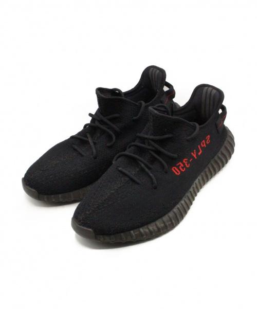 adidas(アディダス)adidas (アディダス) YEEZY BOOST350V2  ブラック サイズ:29.5cmの古着・服飾アイテム