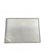 Valextra(ヴァレクストラ)の古着「2つ折り財布」|ホワイト