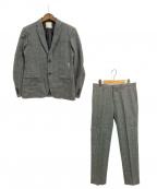 FACTOTUM(ファクトタム)の古着「セットアップスーツ」|チャコールグレー