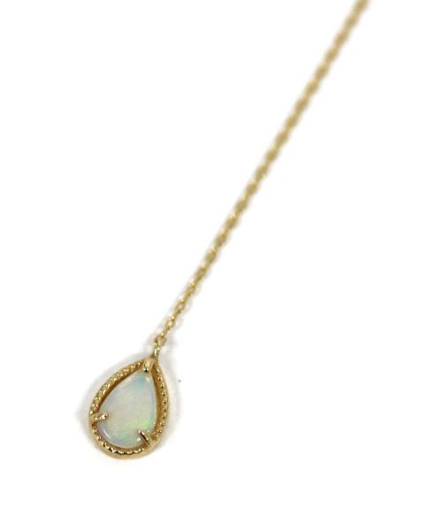 """Enasoluna(エナソルーナ)Enasoluna (エナソルーナ) Fancy drop necklace """"Opal"""" K10の古着・服飾アイテム"""