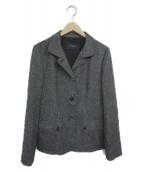 BURBERRY LONDON(バーバリーロンドン)の古着「ツイードジャケット」|グレー