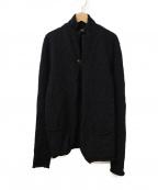 KOLOR(カラー)の古着「ツイードウール1Bジャケット」|ネイビー