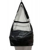Orobianco(オロビアンコ)の古着「2WAYレザーショルダーバッグ」|ブラック