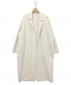 Plage()の古着「ハミルトンコクーンコート」|オフホワイト
