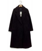 23区(ニジュウサンク)の古着「ボアジャージードロップショルダーコート」|ブラウン