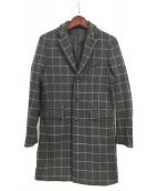 HAMNETT(ハムネット)の古着「チェスターコート」|グレー