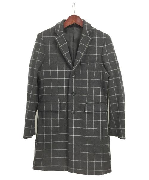 HAMNETT(ハムネット)HAMNETT (ハムネット) チェスターコート グレー サイズ:M 未使用品の古着・服飾アイテム