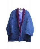 ()の古着「ボアジャケット」|ネイビー