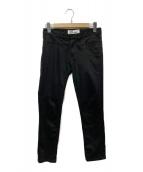 ()の古着「ジャガードポケットスキニーパンツ」|ブラック