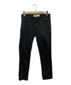noir kei ninomiya(ノワール ケイ ニノミヤ)の古着「ジャガードポケットスキニーパンツ」|ブラック