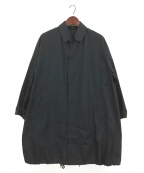 AURALEE()の古着「FINX SILK CHAMBRAY BIG SOUTIEN」|ネイビー