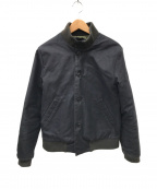 Yarmo(ヤーモ)の古着「スタンドカラータンカージャケット」 ブラック