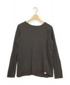 DEUXIEME CLASSE(ドゥーズィエム クラス)の古着「Layering Tシャツ」|ブラウン