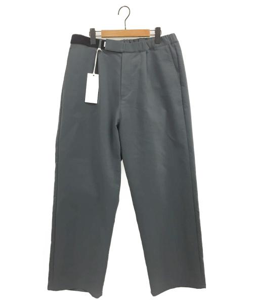 Graphpaper(グラフペーパー)Graphpaper (グラフペーパー) Triple Cloth Wide Chef Pants グレー サイズ:Fの古着・服飾アイテム