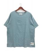 ()の古着「オルテガプリントビッグTシャツ」 スカイブルー