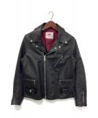JAMES GROSE(ジェームス グロース)の古着「レザージャケット」|ブラック
