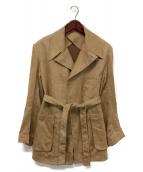 ()の古着「ラップコート」 キャメル