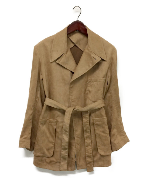 LEON BARA(レオン バラ)LEON BARA (レオン バラ) ラップコート キャメル サイズ:2の古着・服飾アイテム